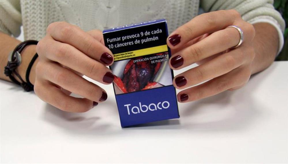 Nuevo mensaje en las cajetillas de tabaco