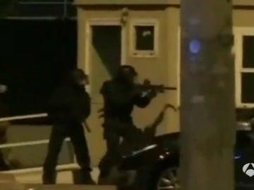Simulacro de atentado suicida en San Siro