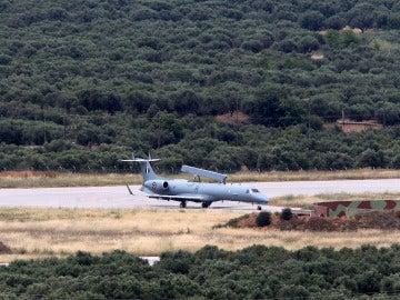 Avión de las fuerzas aéreas egipcias