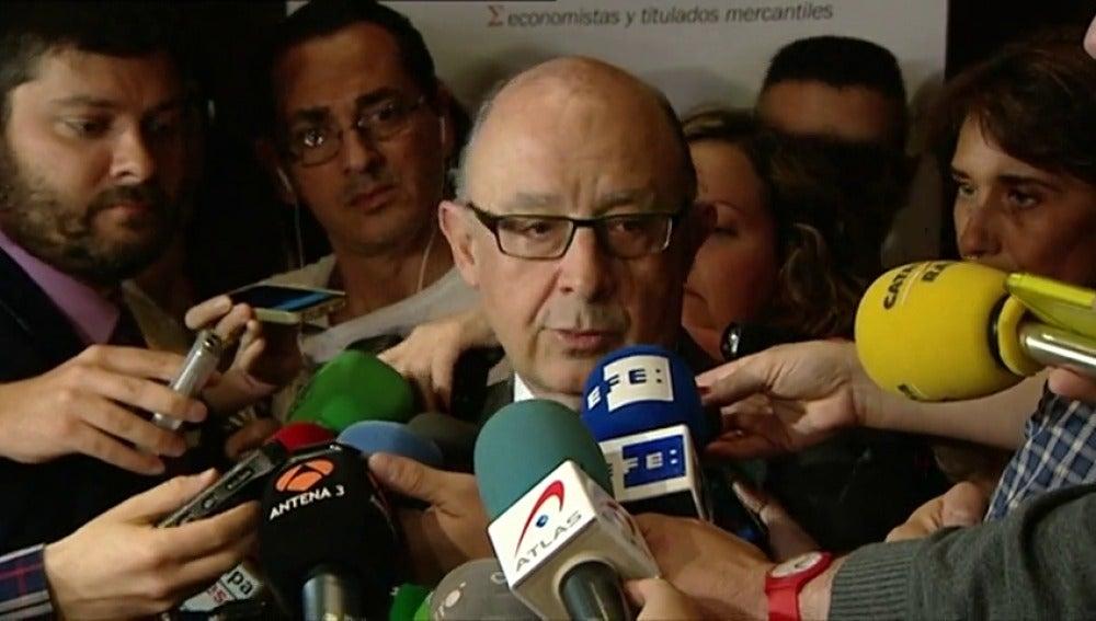 """Frame 5.954624 de: Montoro: """"no tiene sentido"""" una multa a España por el déficit"""