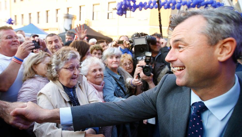 Norbert Hofer, el líder del Partido de la Libertad