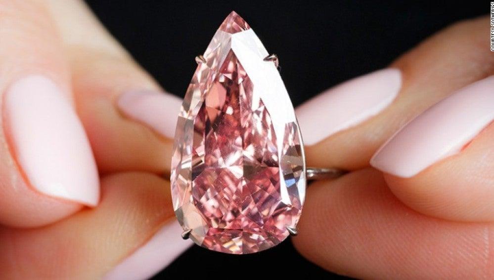 El diamante rosado