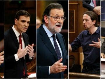 Líderes de los partidos