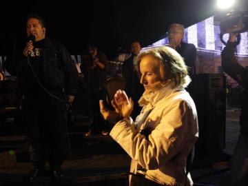 La periodista española, Salud Hernández.