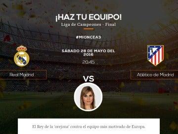 El once ideal de Susana Guasch para la final de Champions League