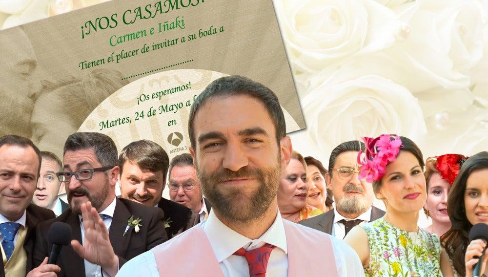 Los actores de 'Allí Abajo' te invitan a la boda del año