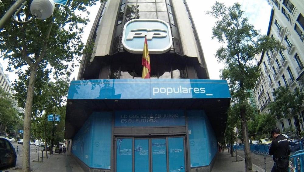 Imagen de archivo de la sede del PP