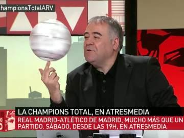 Ferreras, a lo Globetrotter con la Champions Total