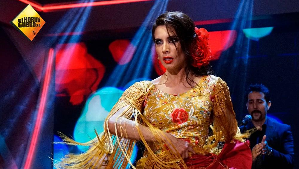 Así baila flamenquito Pilar Rubio