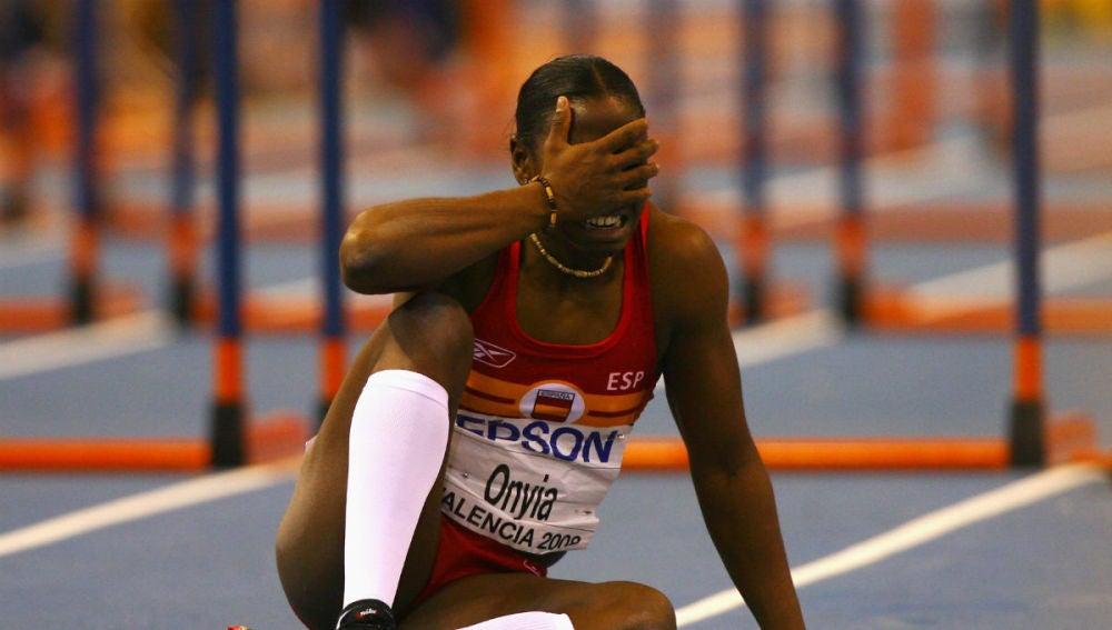 La atleta Josephine Onyia
