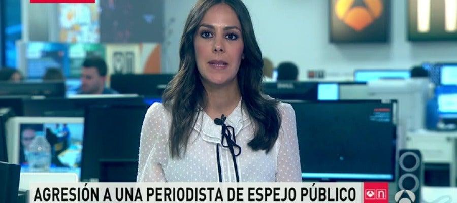 Antena 3 tv mi ana reportera de espejo p blico agredida for Ver espejo publico hoy