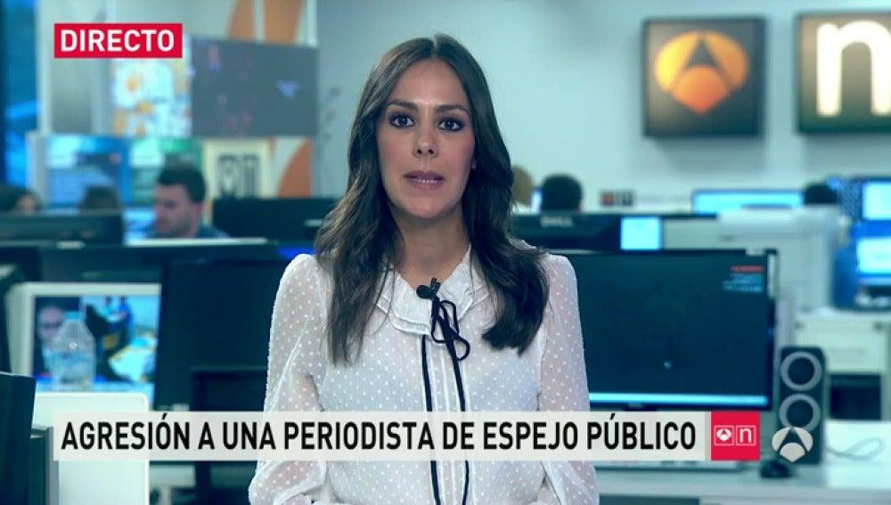 """Frame 17.522648 de: Miraña, reportera de Espejo Público agredida: """"Nadie nos ayudó, nadie nos auxilió, nadie paraba a eso"""""""