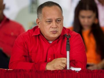El diputado venezolano, Diosdado Cabello.