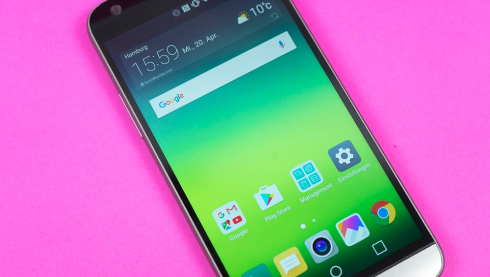 Un teléfono móvil con Android