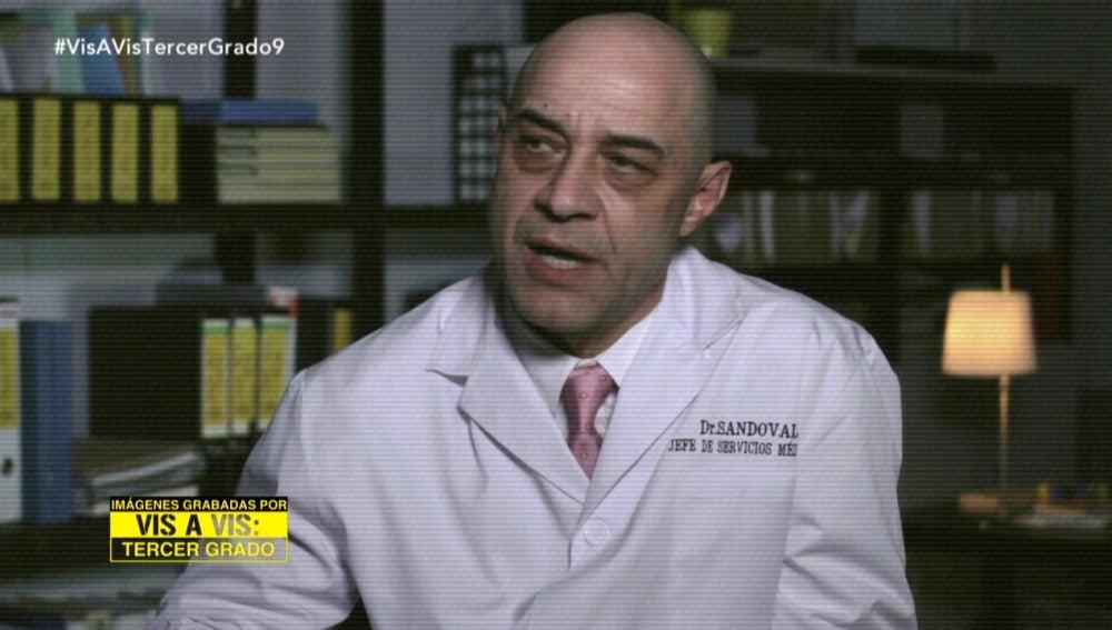 Sandoval en el psicólogo