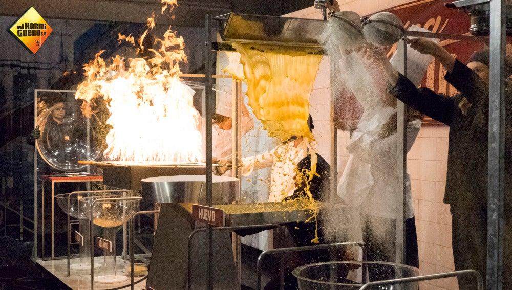 Cocina ultrarápida en 'El Hormiguero 3.0'