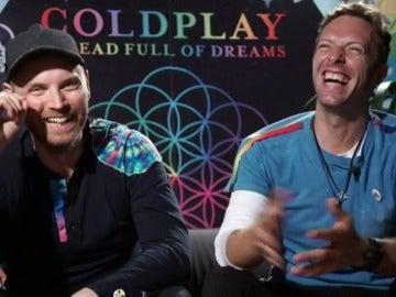 """Frame 35.839403 de: Chris Martin: """"Head full of dreams"""" habla sobre el poder del amor y la bondad que hay en la gente"""