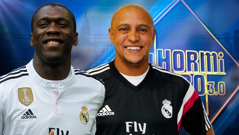 Roberto Carlos y Seedorf en 'El Hormiguero 3.0'