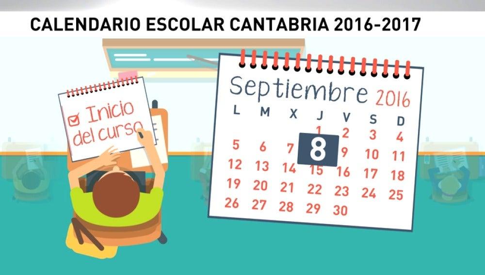 Frame 28.674873 de: Los escolares de Cantabria tendrán una semana de descanso cada dos meses de clase