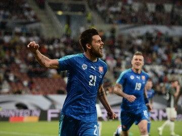 Eslovaquia gana 1-3 en casa de Alemania