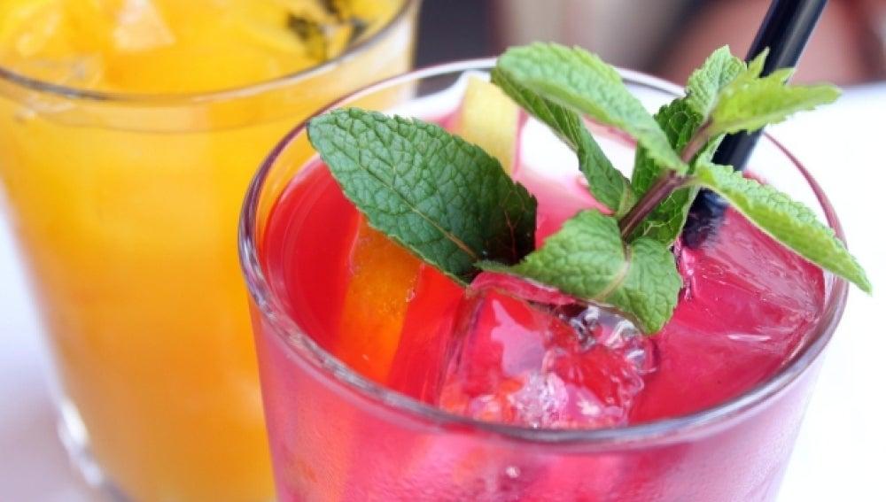 Un cocktail de lo más saludable