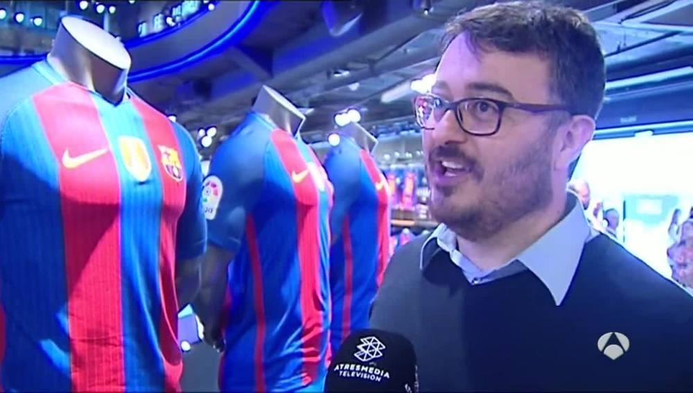 Un aficionado del Barcelona opina sobre la nueva camiseta del equipo