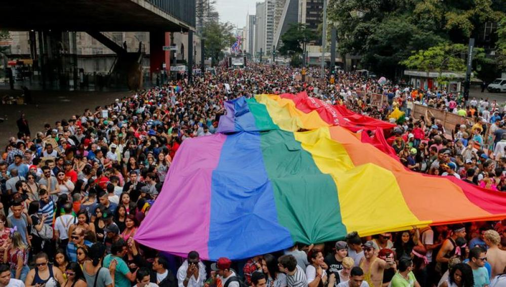Celebran en Sao Paulo el festival del Orgullo Gay