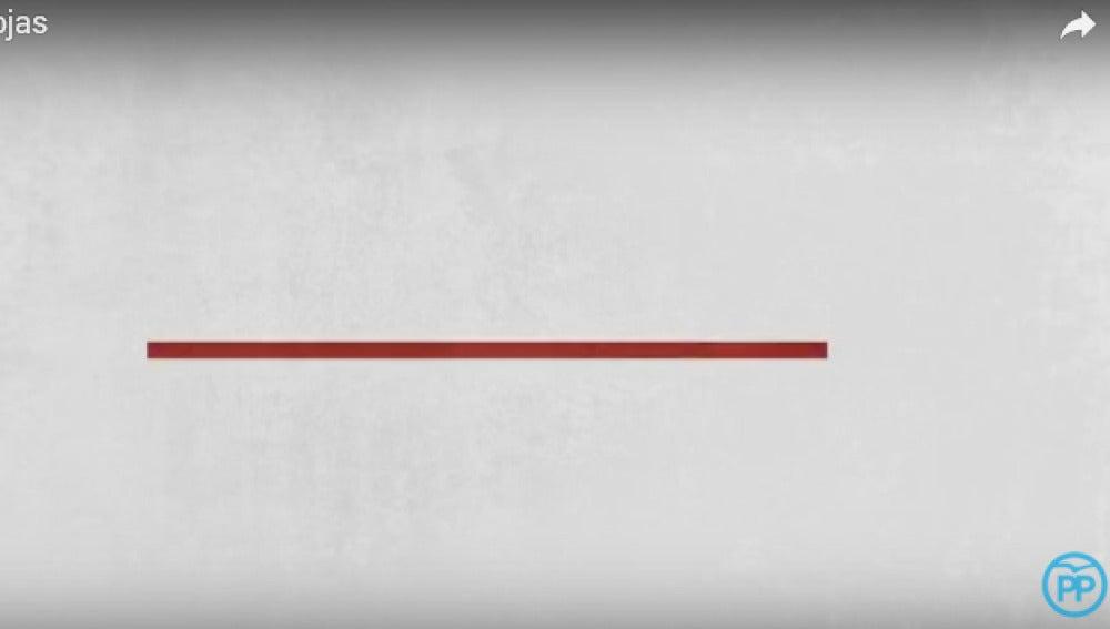 Frame Líneas Rojas