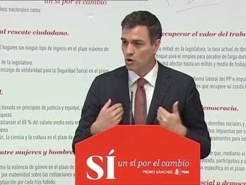 """Frame 17.517258 de: Sánchez promete una reforma fiscal, un """"recargo"""" para las pensiones y el ingreso mínimo vital"""