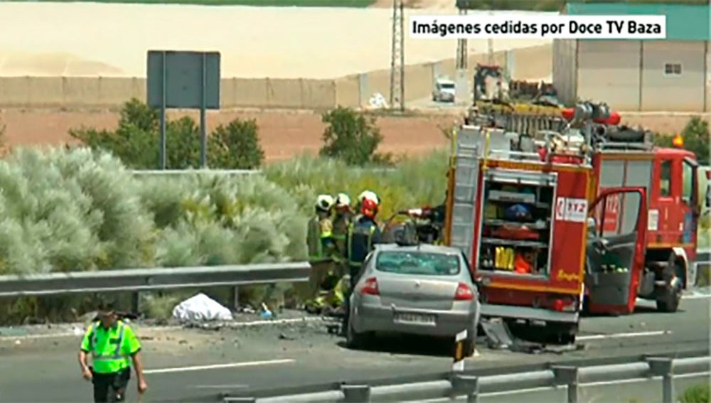 Accidente en Baza