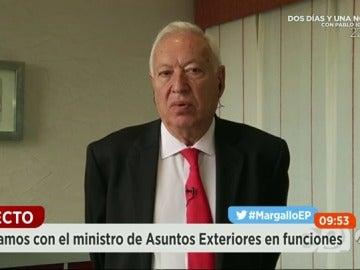 """Frame 67.733457 de: Margallo: """"En Venezuela hay 27.000 asesinatos al año: uno de cada mil venezolanos muere asesinado"""""""