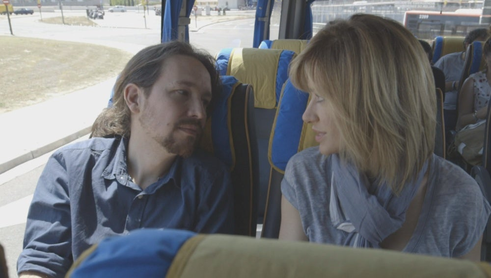 Pablo Iglesias y Susanna Griso en 'Dos días y una noche'