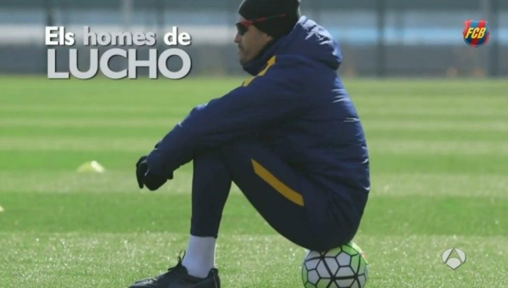 Luis Enrique presenta el documental junto al Barcelona
