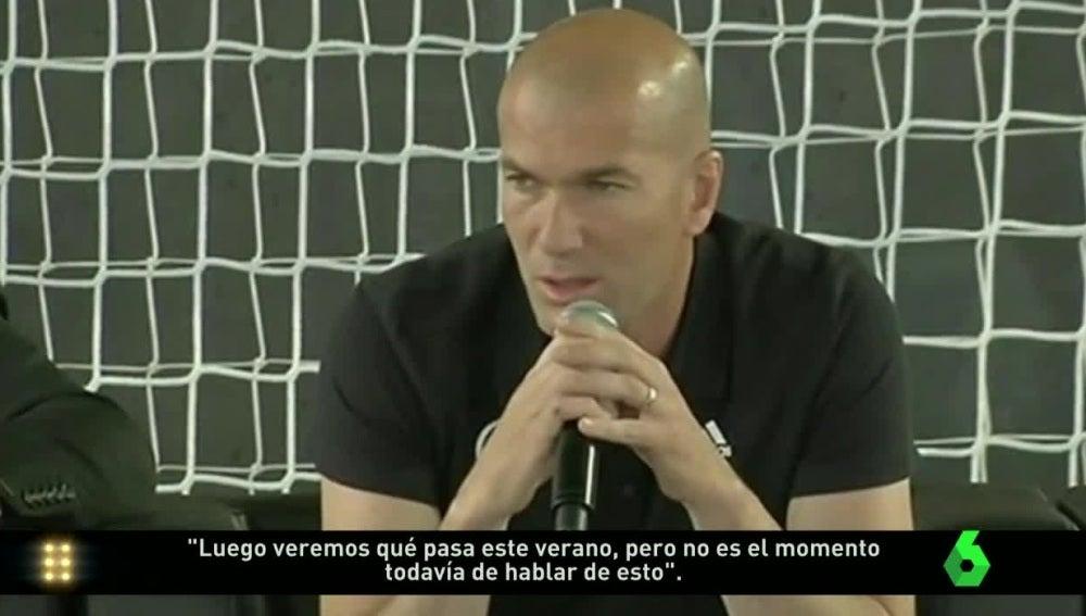 Zinedine Zidane, en Turín