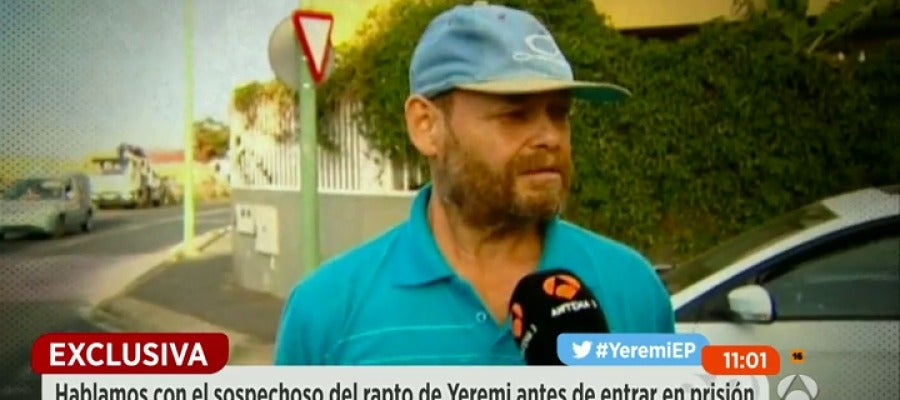 Antena 3 tv espejo p blico entrevist al presunto autor for Ver espejo publico hoy