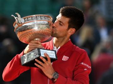 Djokovic besa su primer Roland Garros