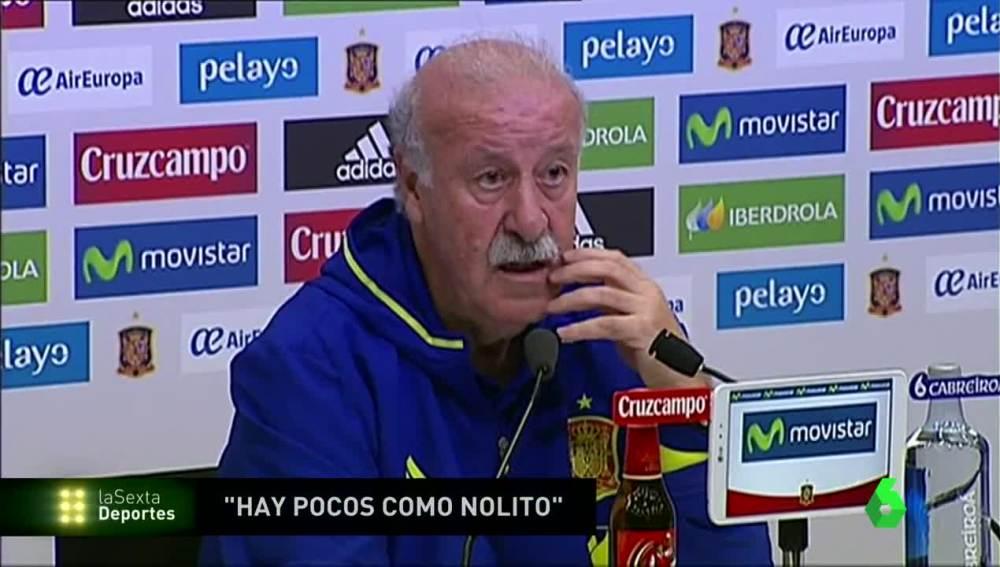 Vicente del Bosque no da pistas en la portería de la Selección