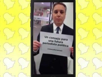 Frame 42.07156 de: Vicente Vallés Snapchat