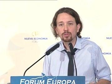 "Frame 23.724011 de: Iglesias reivindica que Unidos Podemos ocupe ""el nuevo espacio socialdemócrata"""