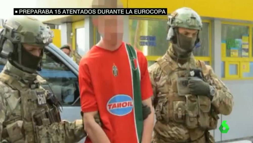 El joven ucraniano detenido