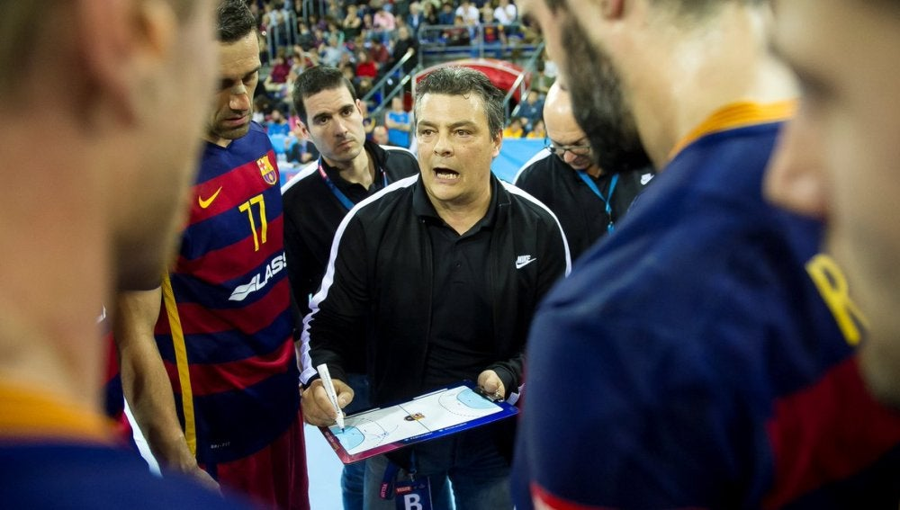 Xavi Pascual entrenador de balonmano