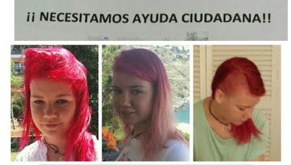 Fotos de la joven de 15 años desaparecida en Aguadulce