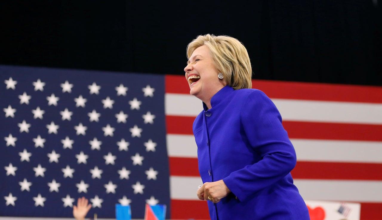 Hillary Clinton, candidata demócrata a las elecciones de EEUU