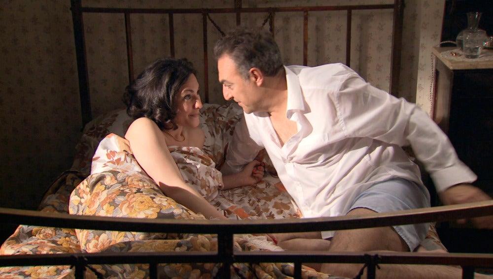 Lorente y Maruxa disfrutan de su amor sin secretos