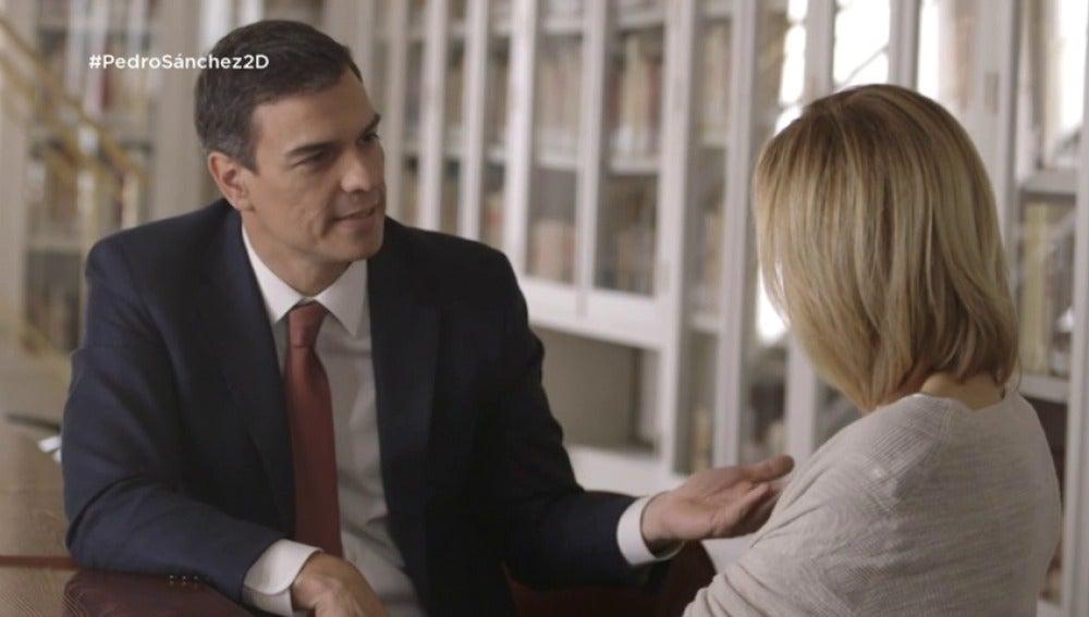 """Frame 25.606955 de: Pedro Sánchez: """"Quien sueña con la gran coalición es Pablo Iglesias"""""""