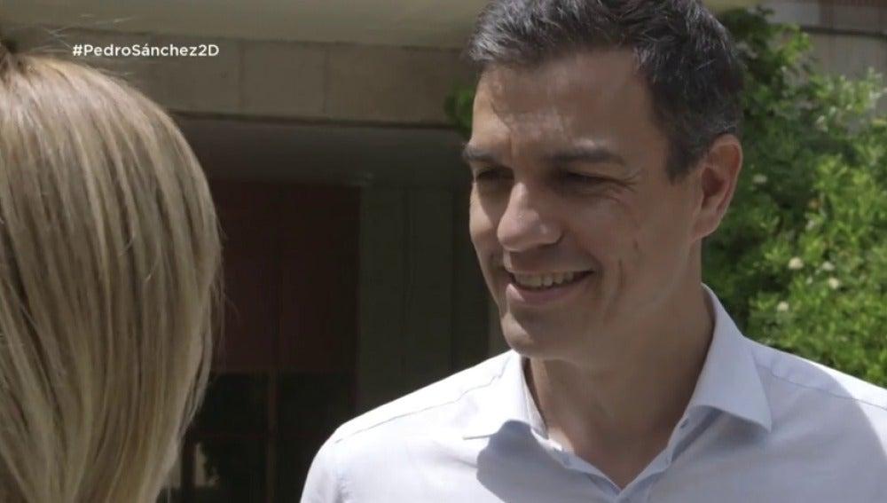 """Frame 52.852631 de: Pedro Sánchez: """"Mi mujer es mi mayor crítica"""""""