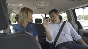 """Frame 7.61358 de: Pedro Sánchez: """"Mis votantes tienen un cabreo con Pablo Iglesias que no te puedes ni imaginar"""""""