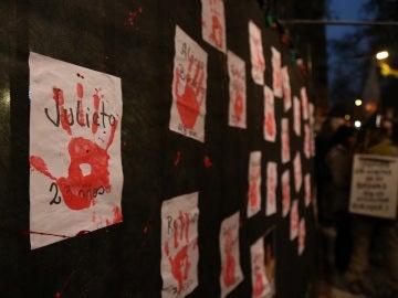 Argentina protesta contra la violencia a las mujeres