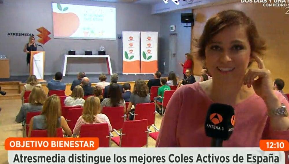 Entrega premios Coles activos