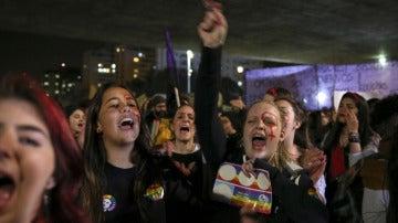 Protesta en Brasil contra las violaciones